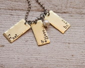 2013 Word Of The Year necklace (One Little Word)