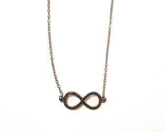 Infinity Loop Necklace 221