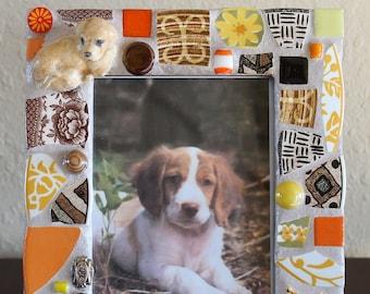Mosaic Dog Lovers Frame