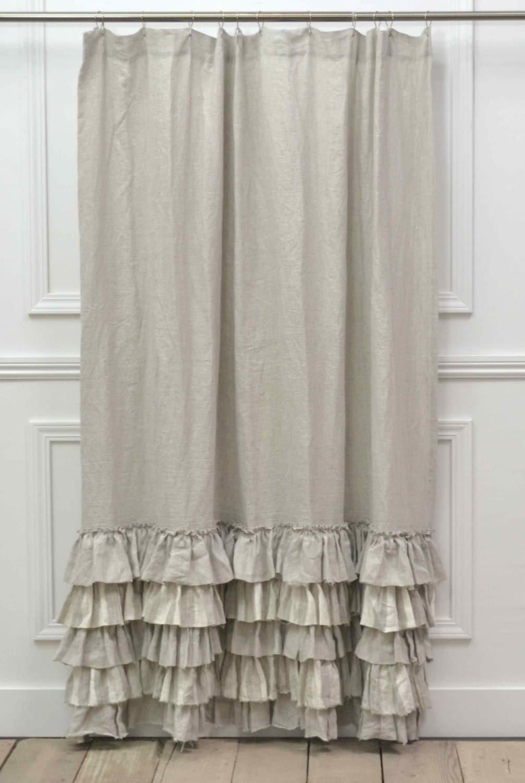Last e Sofia Shower Curtain in Natural