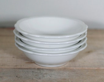 vintage set of four jackson china restaurant bowls