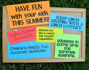 TUTORIAL- PDF- Have Fun With Your Kids This Summer- Summer Survival Guide for Moms