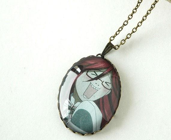 anime pendant necklace kuroshitsuji black butler