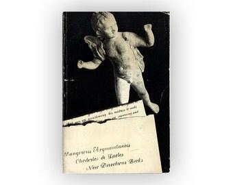 """Alvin Lustig paperback book cover design, 1957. """"Dangerous Acquaintances"""" by Choderlos de Laclos"""