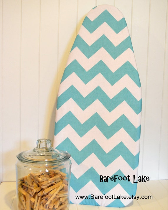 tabletop ironing board cover riley blake large chevron in. Black Bedroom Furniture Sets. Home Design Ideas