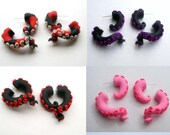 Custom Tentacle Fake Gauge Earring