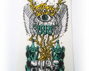Vintage 1987 Jim Murphy Murf Alva Skateboard Sticker