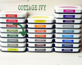 Large MEMENTO  raised dye ink pad  Cottage Ivy