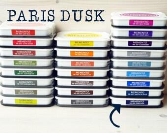 Large MEMENTO  raised dye ink pad PARIS DUSK