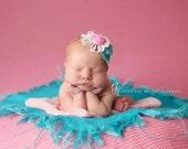 Burlap Blanket Photography Prop Burlap Layering Newborn  Photo Prop Mini Burlap Basket Filler Bright Burlap Colored