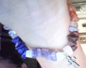 Chakra Bracelet (Earth Tone) and Moonstone with Charm