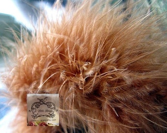 Ginger Spice Brown Marabou Boa Feathers