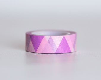 Pink Triangle Tape-  Single Roll 10 mm