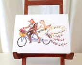 Just Married Greeting Card