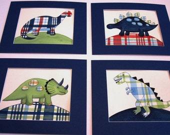 dinosaur art, dinosaur nursery decor, dinosaur bedroom art prints, dinosaur pictures, madras bedding art