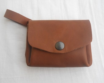 leather purse small
