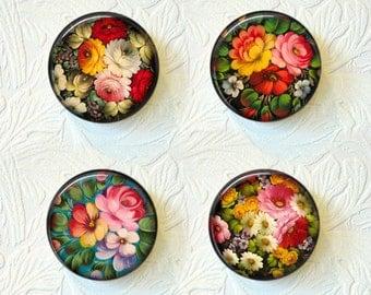Magnet Set Russian Folk Art Buy 3 Get 1 Free 297M