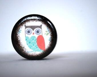 Spring Owl Pill Box - Stocking Stuffers