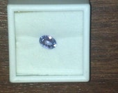 1.5 plus carat Oval Tanzanite 8 x 6mm Natural Clean Clear Gemstone - FREE SHIPPING