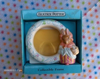 Schmid Beatrix Potter Collectible Frame - F.Warne and Co., N.Y.and London 1988 - Sweet