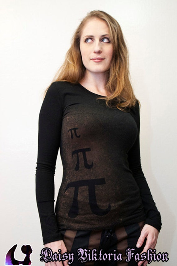 Pi Long-Sleeved Shirt by fqcouture.