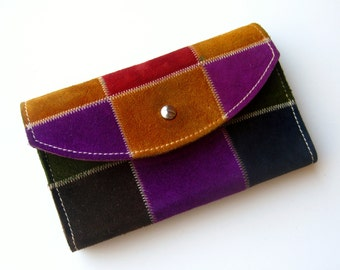 Popular Items For Leather Patchwork On Etsy