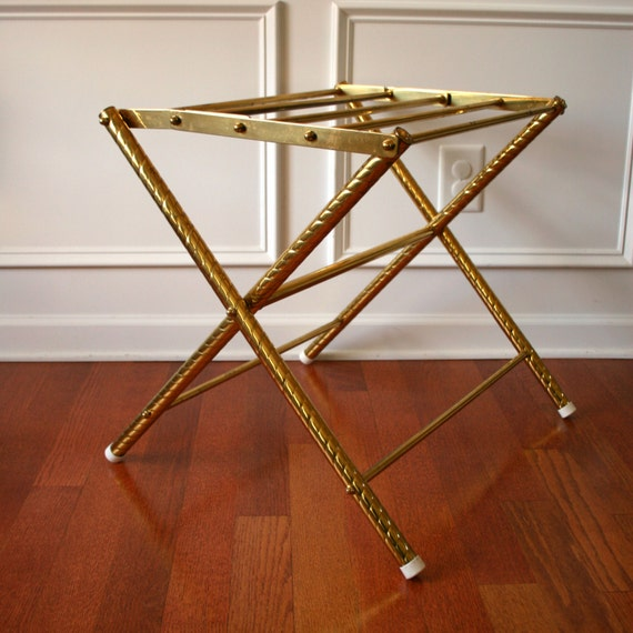 Delightful Luggage Racks For Bedroom Carlstonelysia Com Brass Luggage Rack Stand  Eclectic End Table Metal Patina Guest