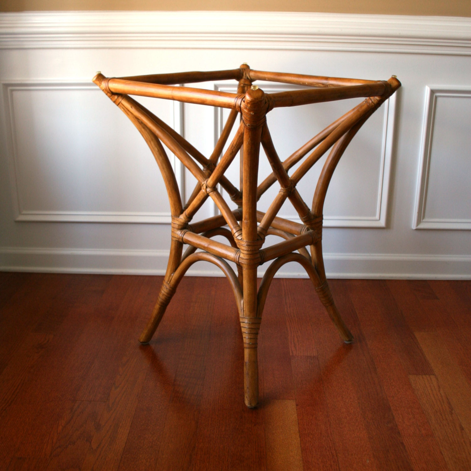 Faux Bamboo Table Base Rattan Cane Bentwood Bohemian Home : ilfullxfull456932225b65a from www.etsy.com size 1500 x 1500 jpeg 374kB