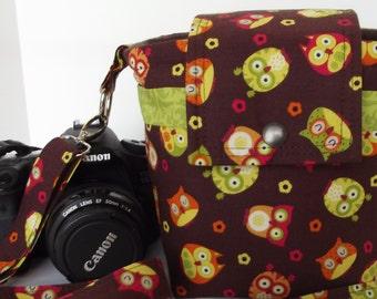 Dollbirdies Large SLR/ DSLR Camera Bag Ready to Ship