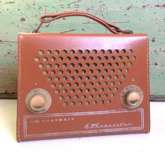 Vintage Transistor Radio Heathkit 6 Daystorm Portable