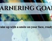 Garnering Goals - pdf worksheet for developing goals for your artistic business