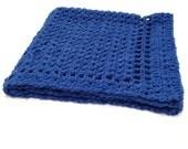 Blue Blanket, Crochet Boy Blanket, Hand Crochet Blanket, Blue Afghan, Crochet Afghan, Lapghan, Handmade Blanket, Throw, Afghan, Gift for Him