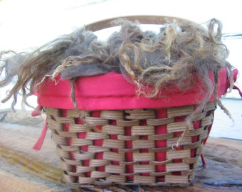 Raw Wool - Sun-kissed Brown
