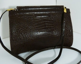 Crocodile Style Bag by Marshall Field's Italy