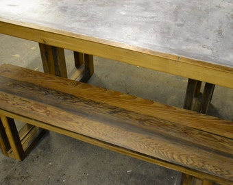 Reclaimed Wood Bench- Free Shipping