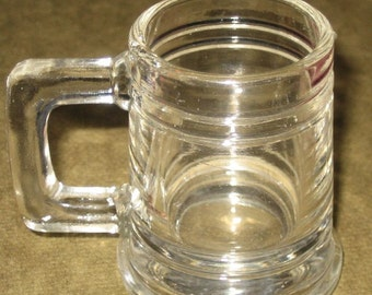 Vintage Glass Shotglass