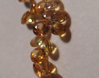 Songea Sapphires .......     2.8   mm   ......      16 pieces   ...    a956