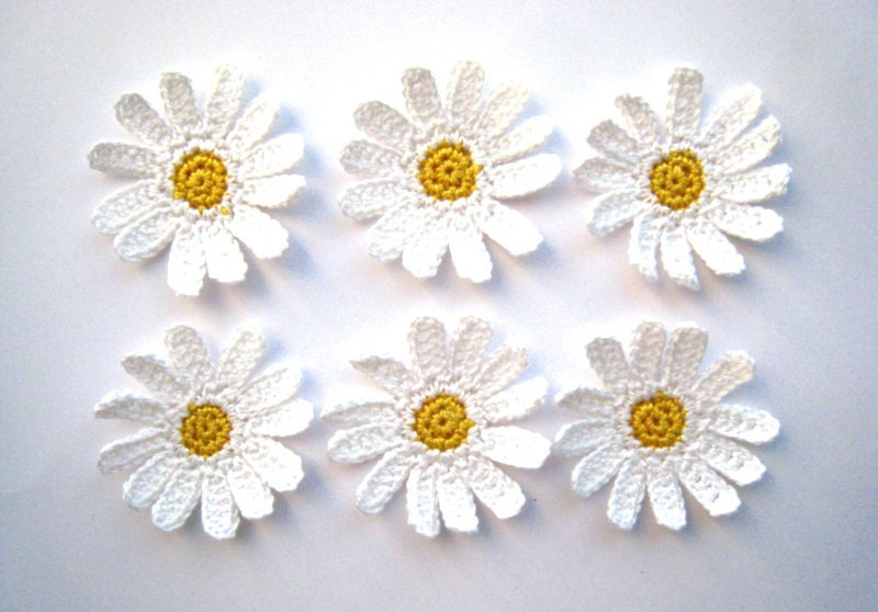 Popular items for crochet daisies on Etsy