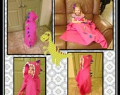 DINO CAPE Custom DINOSAUR Costume For Children Choose Your Size 12 months - 8 Years