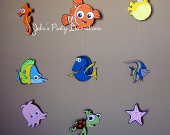 Finding Nemo birthday Hanging Party Decorations