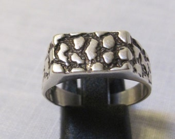 vintage serling silver man's ring