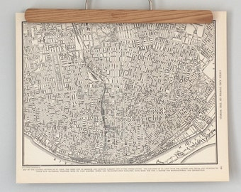 St. Louis 1930s Map | Antique U.S. City Map