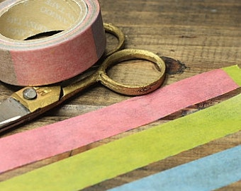 Tape-Washi Tape-Masking Tape-Single Roll-Multicolor