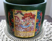 DeRoMa Terracotta Hand Made Christmas Planter Pot