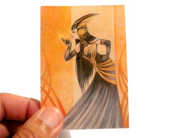 Sorceress Limited ACEO card
