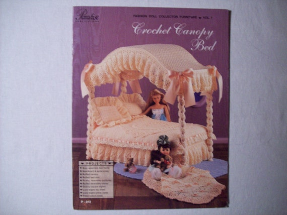 Thread Crochet Patterns Book Crochet Canopy Bed By