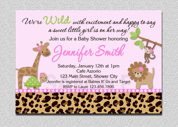 giraffe baby shower invitation giraffe by thetrendybutterfly, Baby shower