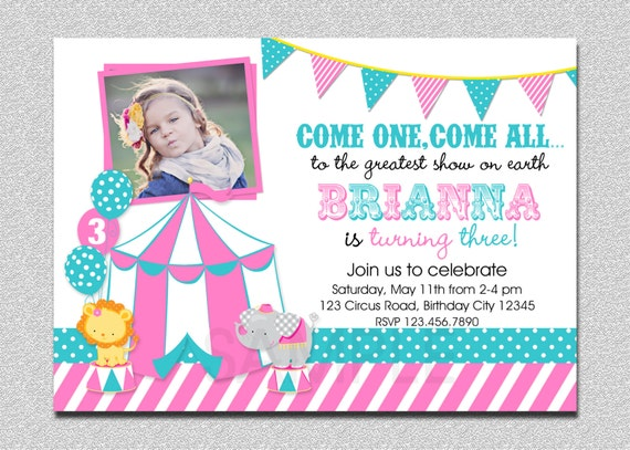 carnival birthday invitation st birthday carnival birthday party, Birthday invitations