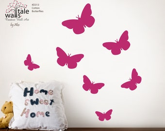 Wall decal - SALE - Butterfly wall decals