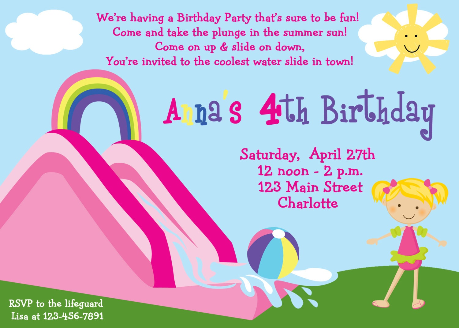 Customized Party Invitations Free | futureclim.info
